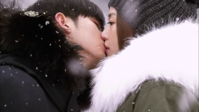 My Love from the Star Snow Kiss